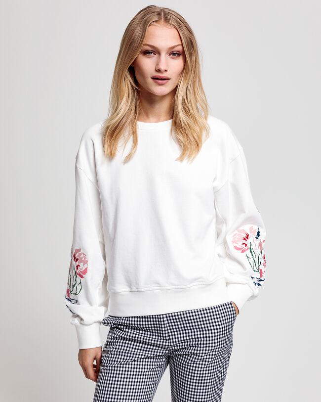 Peonies Rundhals-Sweatshirt