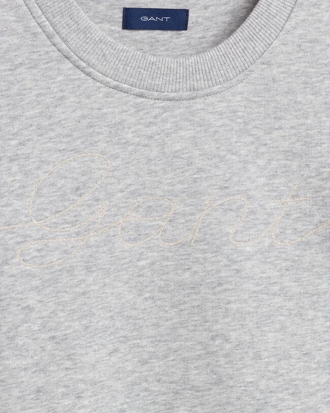 Teen Girls Script Rundhals-Sweatshirt