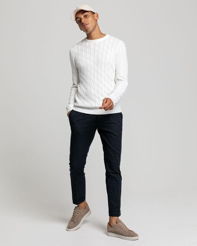 Strukturierter Sweater