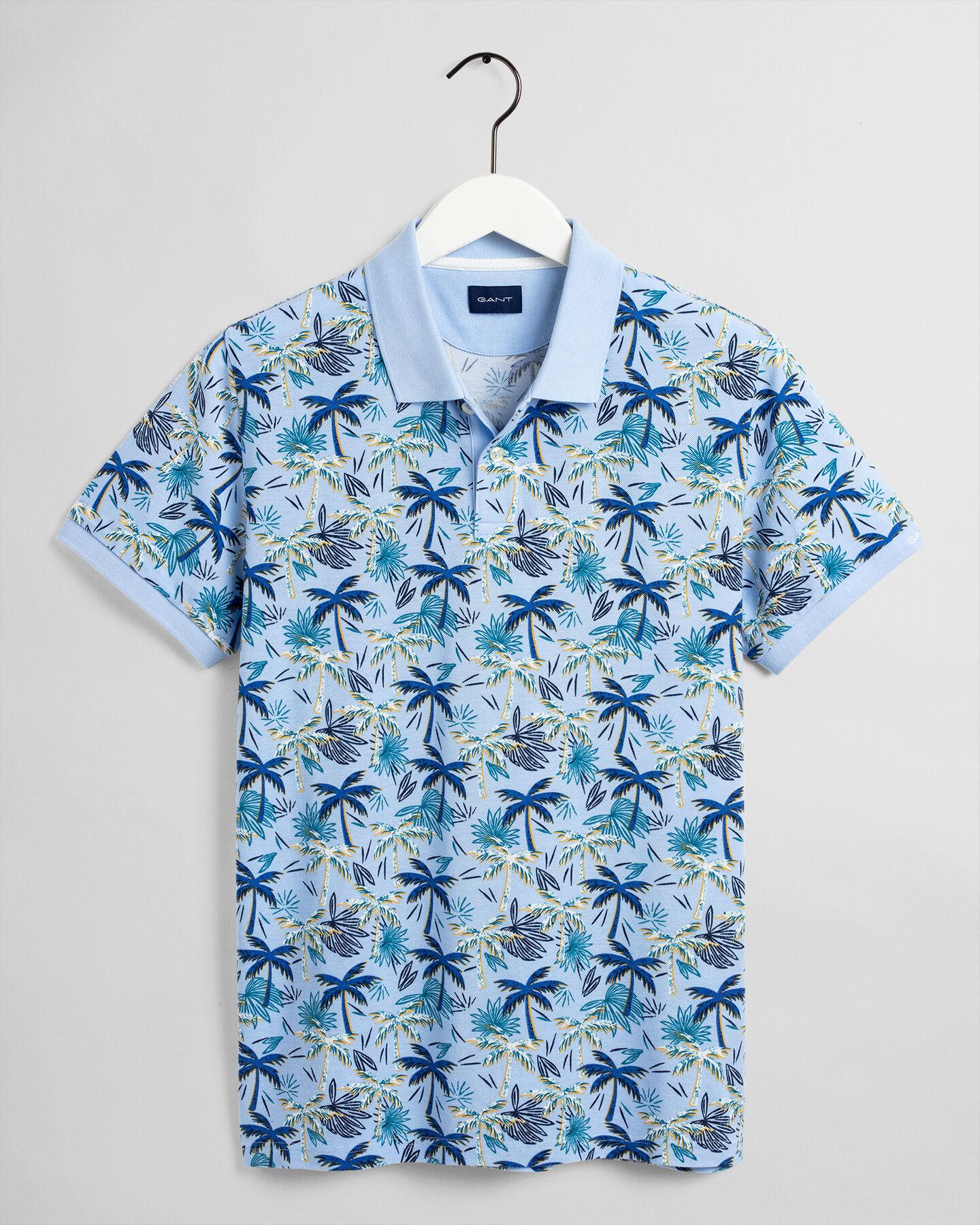 Palm Haze Piqué Poloshirt