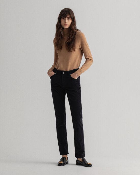Farla Slim Fit Cord-Jeans