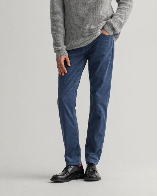 Hayes Slim Fit Cord-Jeans