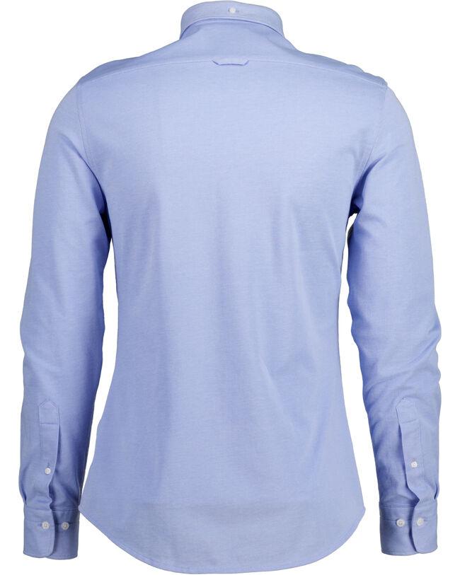 Tech Prep™ Slim Fit Piqué Hemd