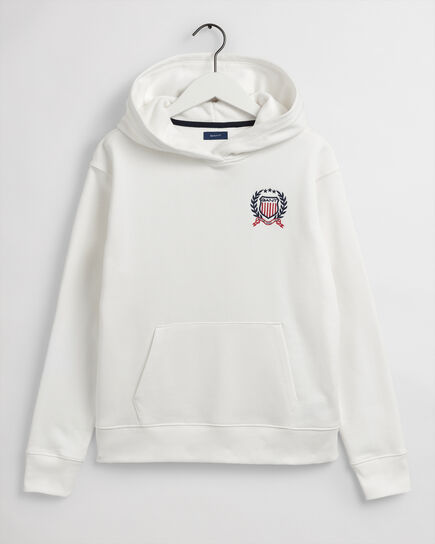 Teen Boys Medium Crest Hoodie