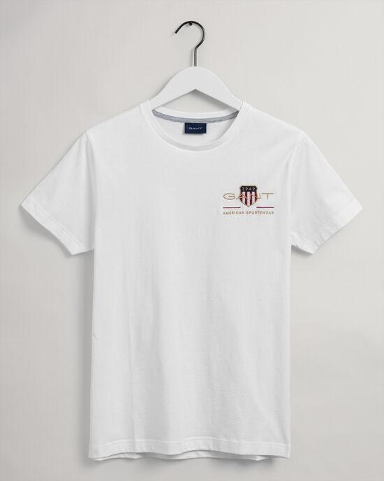 Slim Fit Archive Shield T-Shirt