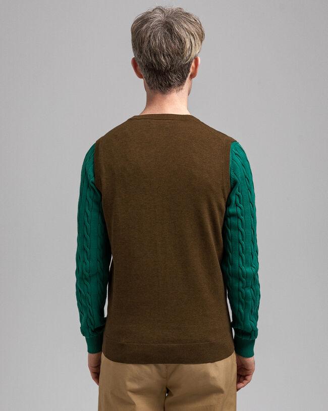 Classic Pullunder aus Baumwolle