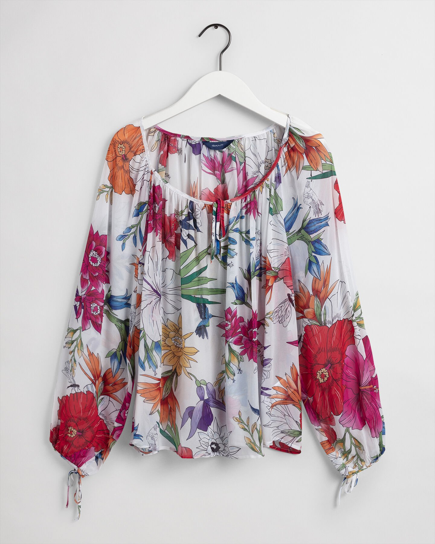 Humming Floral Bluse mit Print
