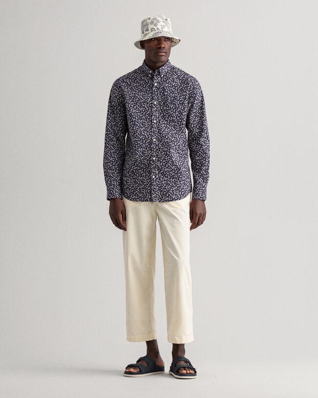 Shell Regular Fit Hemd mit Print
