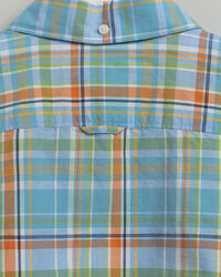 Teen Boys Madras Hemd