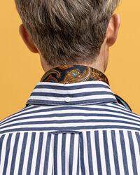 Crisp Hugger-Fit Baumwollhemd mit Streifen