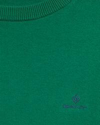 Classic Rundhalspullover aus Baumwolle