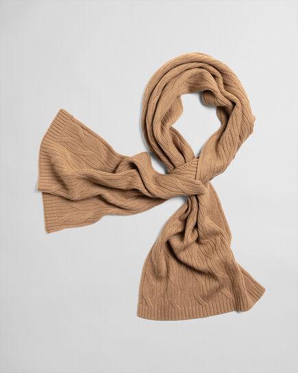 Zopfstrick Schal