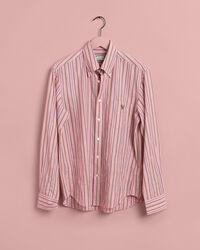 EZ Fit Fil-à-Fil Hemd mit Streifen