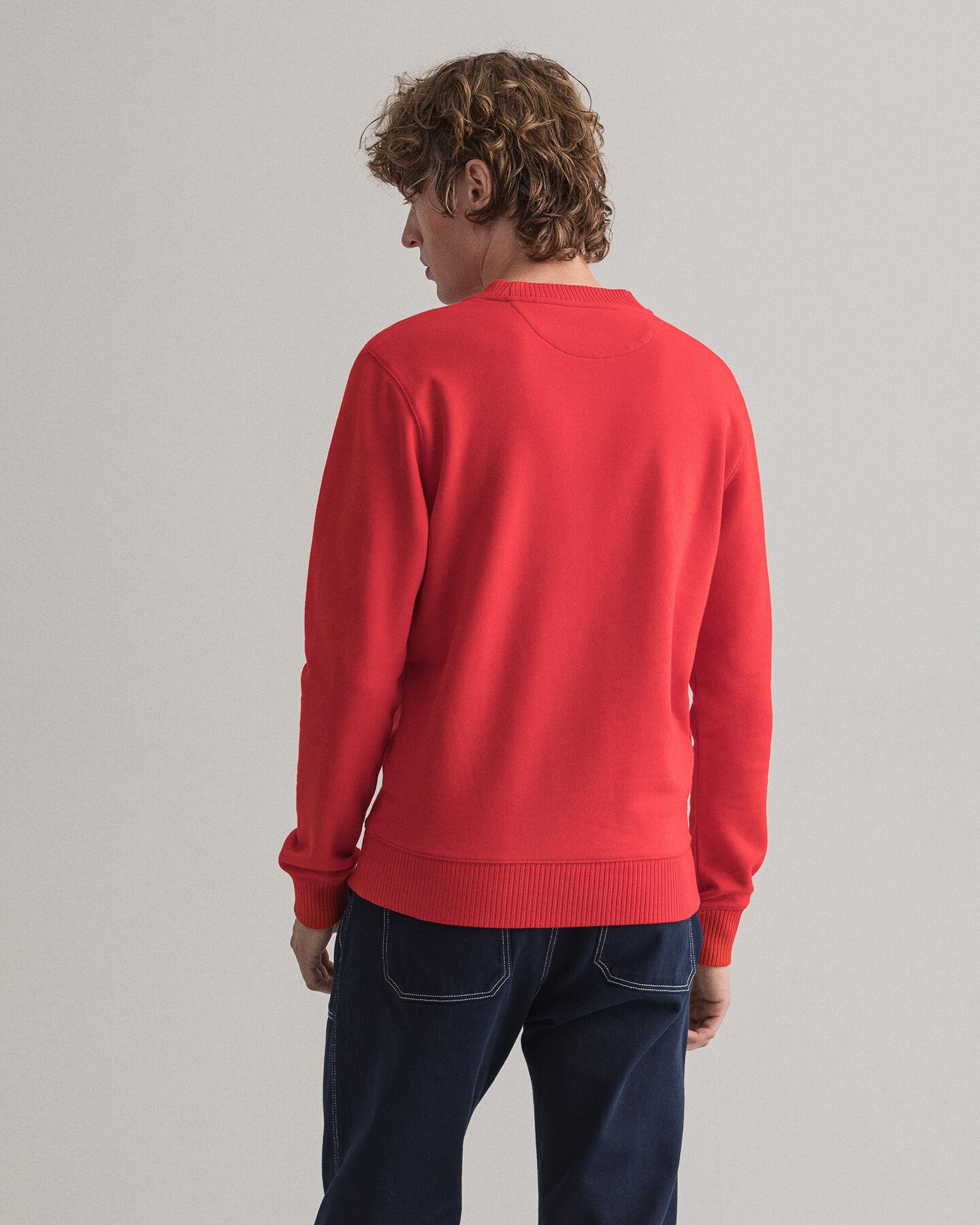 Flag Crest Rundhals-Sweatshirt