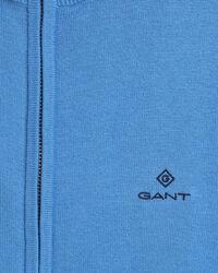 Classic Strickjacke aus Baumwolle mit Reißverschluss