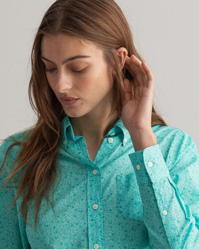 Freedom Flower Regular Fit Bluse mit Print