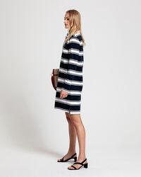 Gestreiftes Heavy Rugger Kleid