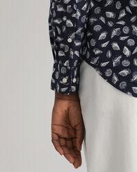 Shell Regular Fit Bluse mit Print
