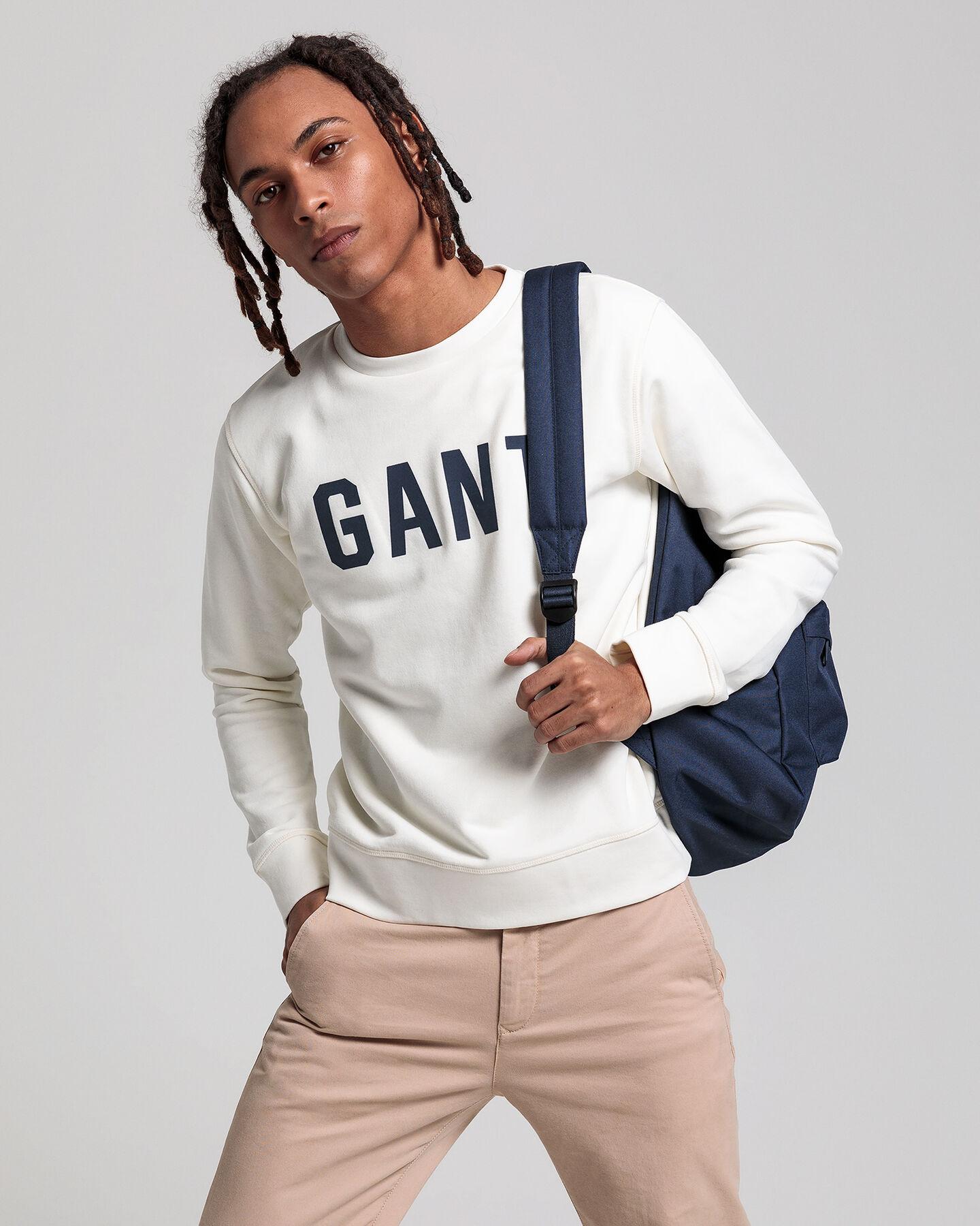 Teen Boys Logo Rundhals-Sweatshirt