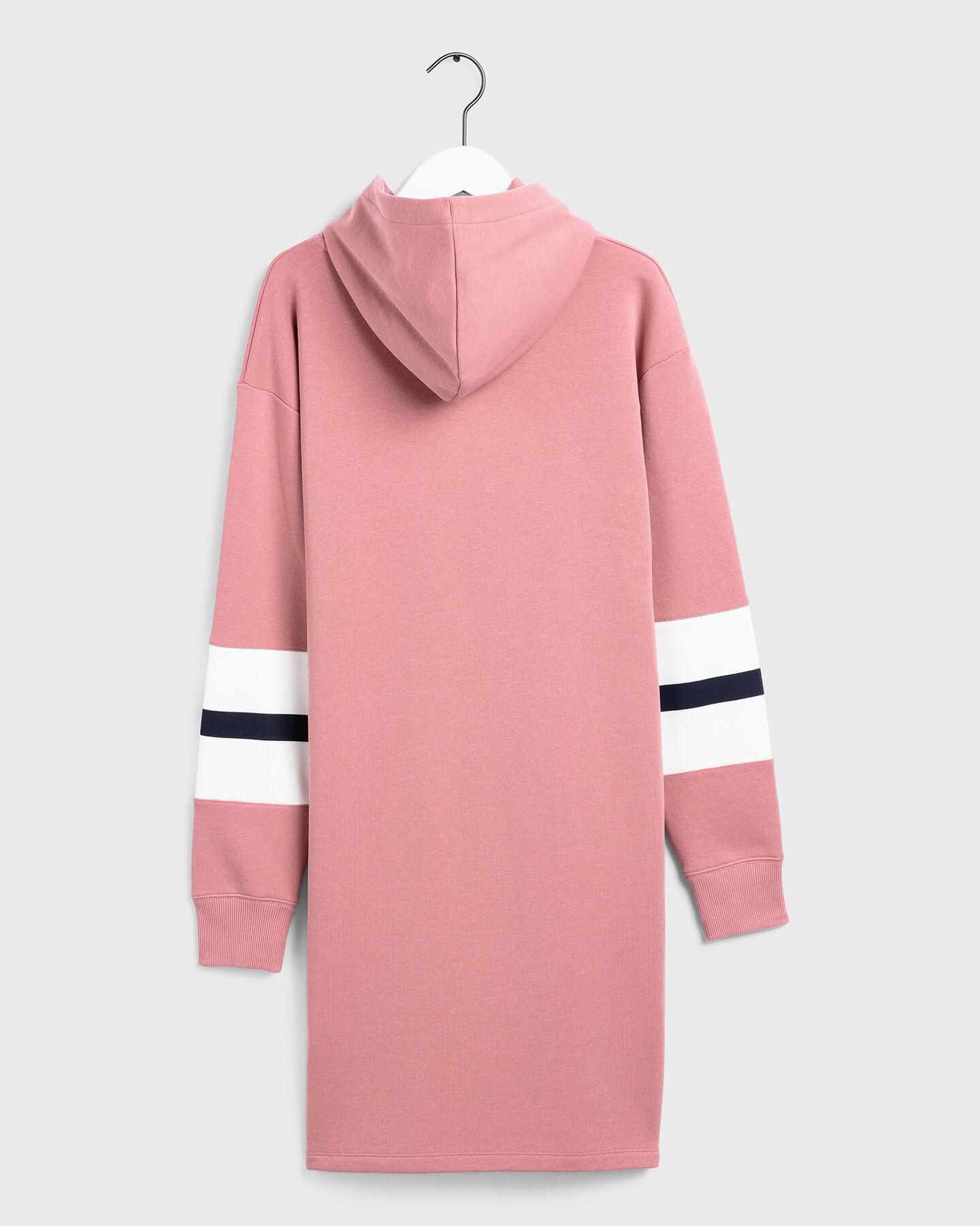 Graphic Block Stripe Kleid