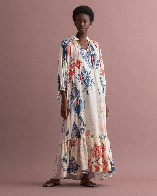Seashell Kleid mit Print