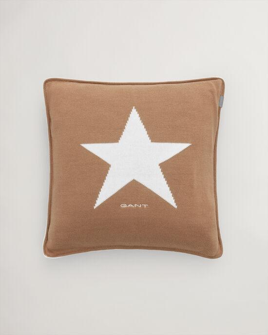 Star Strick-Kissenhülle