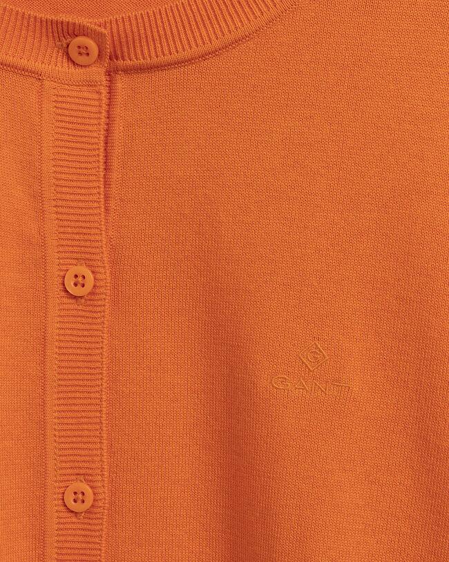 Leichte Baumwoll-Strickjacke