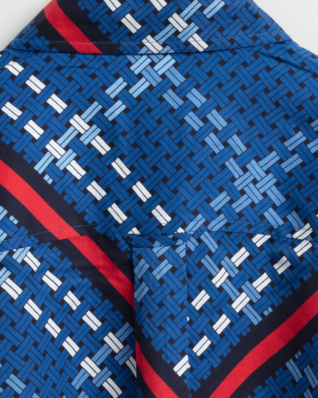 Signature Weave Bluse