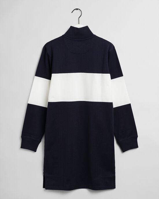 Teen Girls Sporty Shield Kleid mit Halbreißverschluss