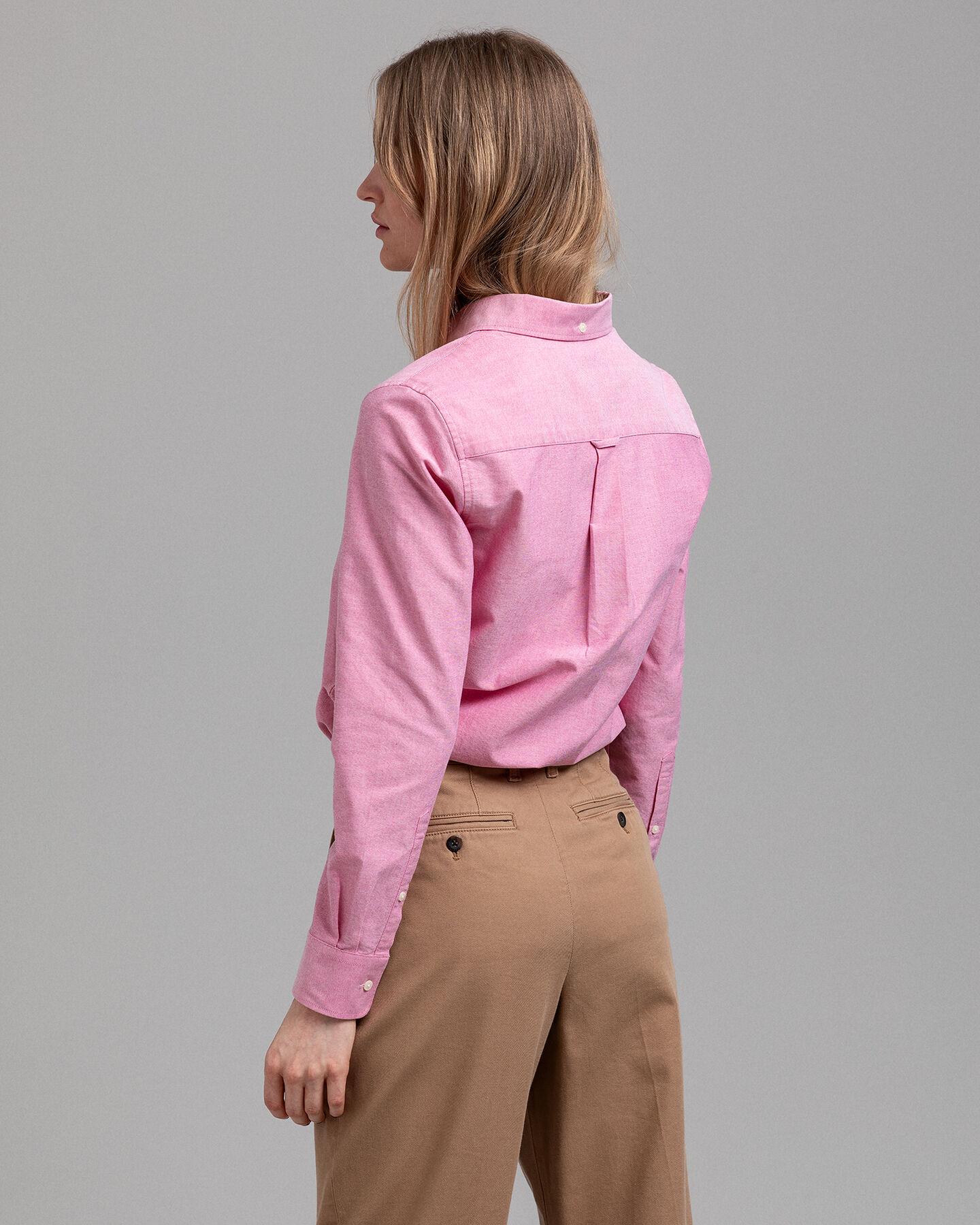 Oxford-Bluse