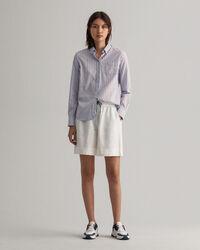 Air Oxford Regular Fit Bluse mit Streifen