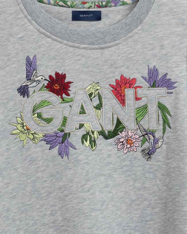 Teen Girls Flower Logo Sweatkleid