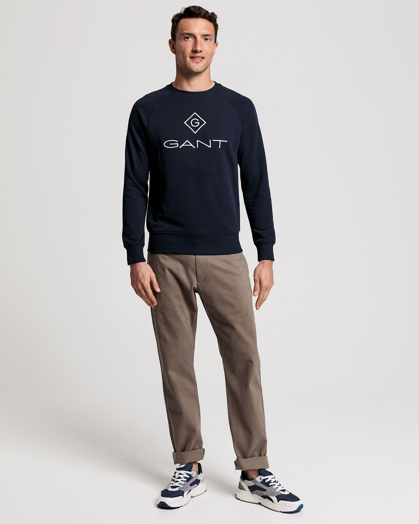 Logo Rundhals-Sweatshirt